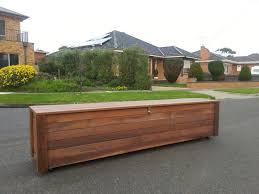 bench design inspiring wood patio storage bench patio