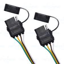 trailer splitter 2 way 4 pin y split wiring harness adapter for trailer splitter 2 way 4 pin y split wiring harness adapter for led tailgate bar 8 8 of 8 see more