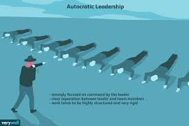 How To Be A Good Team Leader At Work Autocratic Leadership Characteristics Pros Cons