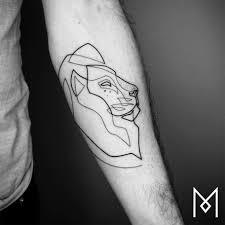 изящные линейные тату из новой коллекции мо ганжи