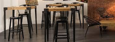 Table Bar Pour Votre Cuisine Avec Rangement Marron Clair Miliboo