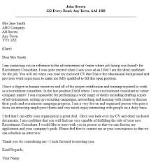 Gallery Of Cover Letter Wording For Customer Service Recruiter