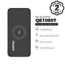 Pin sạc dự phòng energizer qe10007 sạc không dây 5w dung lượng 10000mah. -  Sắp xếp theo liên quan sản phẩm