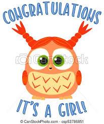Congratulations Poster Congratulations It S A Girl Colorful Poster