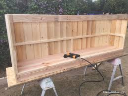 build a farmhouse style planked x tv console or sideboard remodelaholic 17