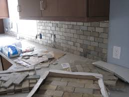 Rock Backsplash Kitchen Kitchen Gray Stone Backsplash Grey Xinkezz