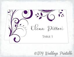 Printable Place Cards 6 Per Page Download Them Or Print