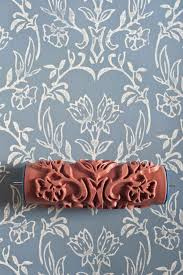 Tapet patterned paint roller from The Painted House on Etsy, 20.00