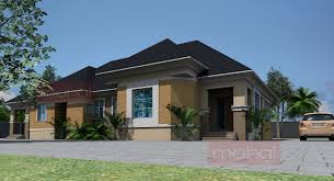 Small Picture Bedroom Bungalow House Plans In Nigeria Bedroom Style Ideas 3