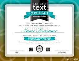 Certificate Border Template Free Best Simple Certificate Of Appreciation Border Frame Template Stock
