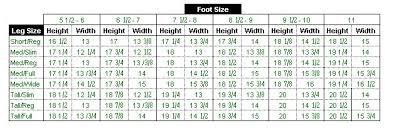 Ariat Boot Size Conversion Chart Ariat Boot Fit Guide Fitness And Workout