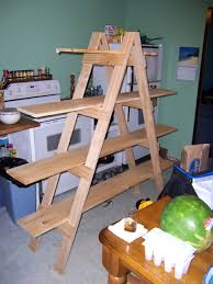 Fold Up Shelf Make Your Own Ladder Shelf For Your Craft Show Display Mama Made