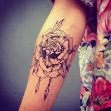 Dream Catcher Tattoo On Side 100 Dreamcatcher Tattoo Design Ideas For Creative Juice 97