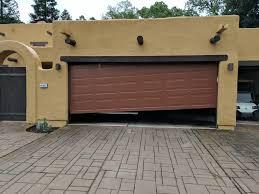 off track garage door project