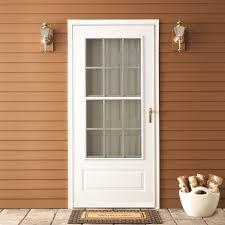 Exterior: Emco Storm Door For Inspiring Front Door Design Ideas ...