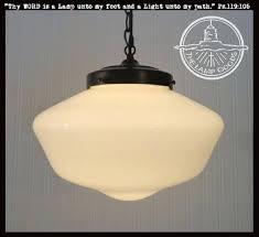 antique milk glass pendant lamps schoolhouse light fixture large the lamp goods vintage milk glass pendant lights