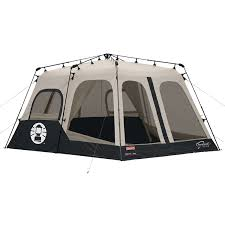 Amazon.com : Coleman Instant 8 Person Tent, Black, 14x10-Feet : Sports &  Outdoors