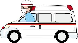 消防26-救急車 -仕事の無料イラスト素材-イラストポップ