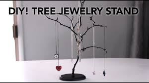 Large Jewelry Tree Display Stand DIY Easy Tree Jewelry Stands In Under 1000 Minutes For 100 YouTube 81