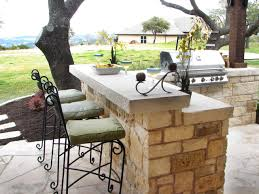 diy outdoor bar table plans