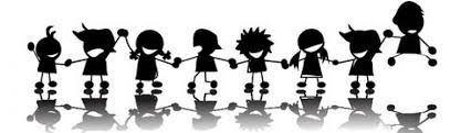Image result for students holding hands clip art
