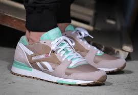reebok gl 6000. the reebok gl 6000 receives one of its more unique colorways to date with this pair in \u201cwalnut\u201d. woody premium suede and textile upper is accented gl