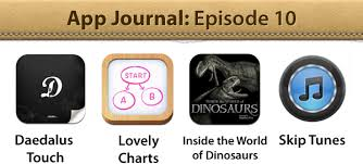 App Journal Episode 10 Daedalus Touch Lovely Charts