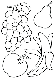 Fruit Basket Coloring Pages Apple Coloring Page Free Printable Apple