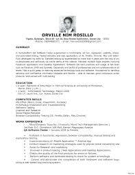Objective For Software Engineer Resume Resume Online Builder