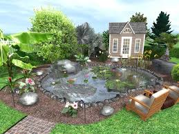 Small Picture garden planner screenshot exporting landscape design plan simple