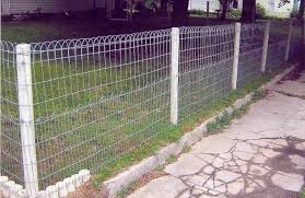 wire fence ideas. Inspiring Double Loop Wire Garden Fence Fences Ideas