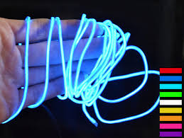 compare prices on el wire colors online shopping buy low price el 2aa battery powered 2m 20 led led 10 colors el wire tube rope flexible neon cold