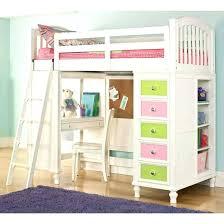 bunk bed with slide and desk. Diy Loft Bed With Slide Bunk Good Looking Girls . And Desk K