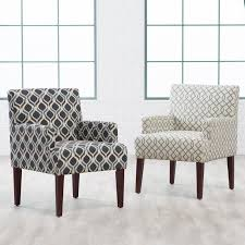 Belham Living Geo Accent Chair With Arms Accent Chairs At Hayneedle - Occasional bedroom chairs