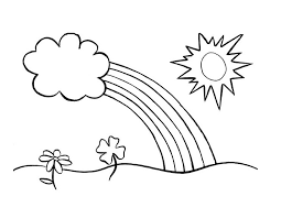 Small Picture Sun coloring pages and clouds ColoringStar