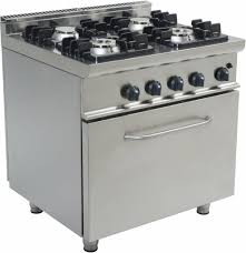 Gas Range With Gas Oven Saro Professional Gas Range With Gas Oven 4 Burners