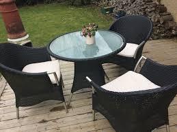 garden furniture garden rattan chairs with table