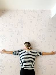 Neutral Nudes REMOVABLE Wallpaper ...