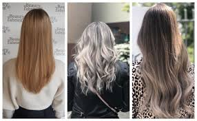 Haartrends 2019 Damen Blond Drawing Apem