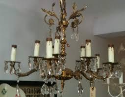 brass spanish chandelier