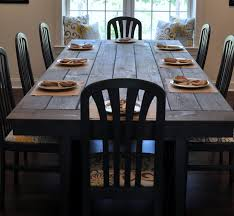 Large Farmhouse Kitchen Table How To Make A Large Dining Room Table Duggspace