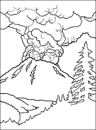 e4fd3141f5485a9b96c75666e157c4ca volcano coloring pages pictures nature coloring pages on staying on topic worksheets