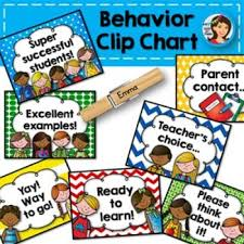 Behavior Clip Chart Retro Secondgradesquad Com