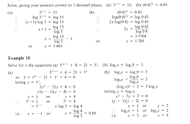 solve logarithmic functions math solving exponential and logarithmic functions worksheet math calculator