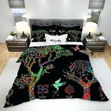forest bedding the black funky forest comforter or duvet cover bedroom set forest green bedding queen
