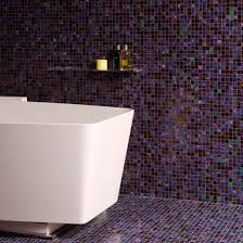 Modern Bathroom Tiles Mosaic Purple These Stunning E In Perfect Ideas