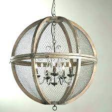 round wood chandelier white washed wood chandelier beaded rustic round medium size sphere wood chandelier