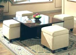 neptune coffee table with storage ottomans decoration awesome coffee table storage ottoman with ottoman coffee table