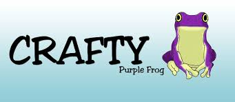 Crafty Welcome To Crafty Purple Frog