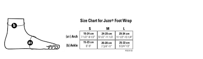 Juzo Calf Wrap Size Chart Compression Wrap Juzo 6000ab M 6000ab S 6000ab L 6000bdl